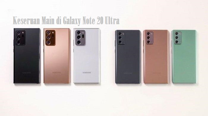 Keseruan Main di Galaxy Note 20 Ultra