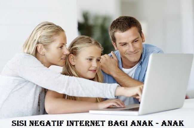 Sisi Negatif Internet Bagi Anak – Anak