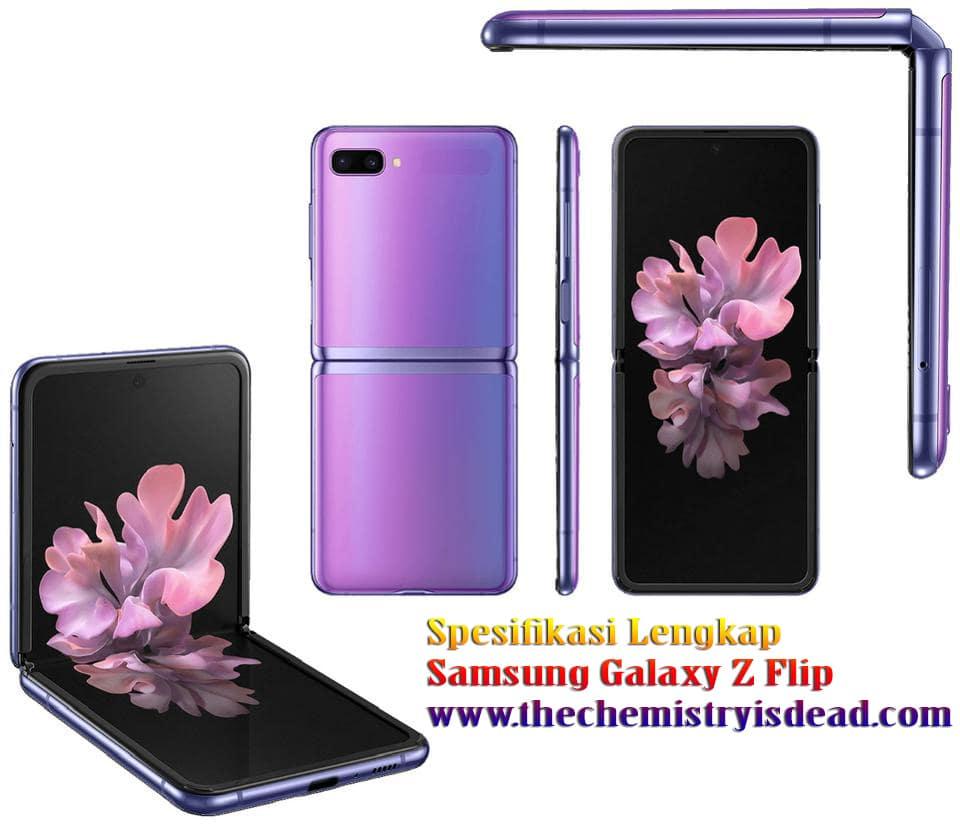 Spesifikasi Lengkap Samsung Galaxy Z Flip